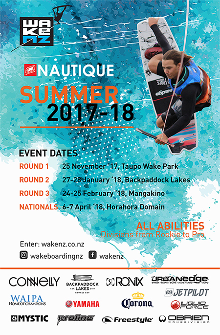 Wake NZ Summer Series 2017/18